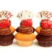 Cards n Dice Cupcakes