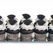 Cookies n Cream Vegan mini cupcakes  copy