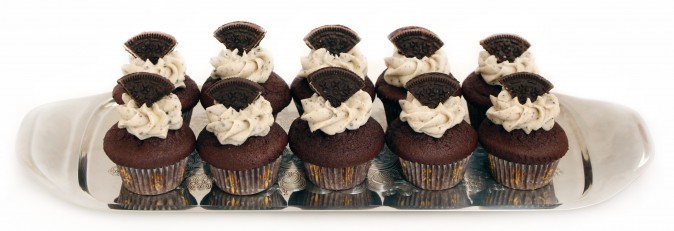 Cookies n Cream mini cupcakes